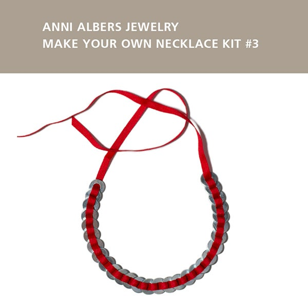 Home Albers By Design: Anni Albers Jewelry: Make Your Own Necklace Kit #3