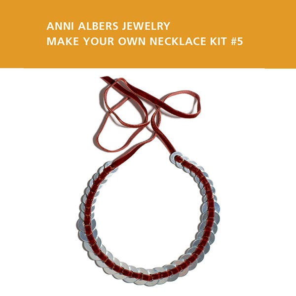 Image of Anni Albers Jewelry: Make Your Own Necklace Kit #5
