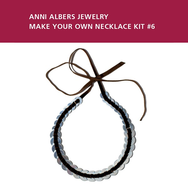 Image of Anni Albers Jewelry: Make Your Own Necklace Kit #6