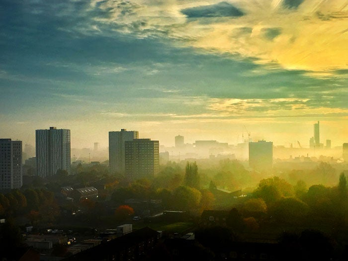 Image of TOWARDS MANCHESTER, FROM SALFORD, 1