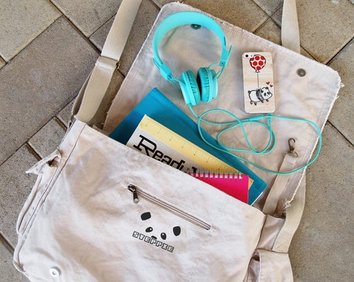 "Image of ""Panda Face"" Messenger Bag"