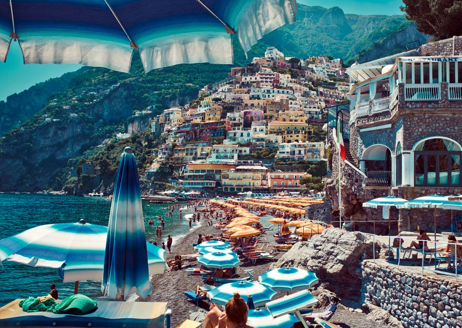 Image of 'Music On The Rocks' <br> Positano, Italy