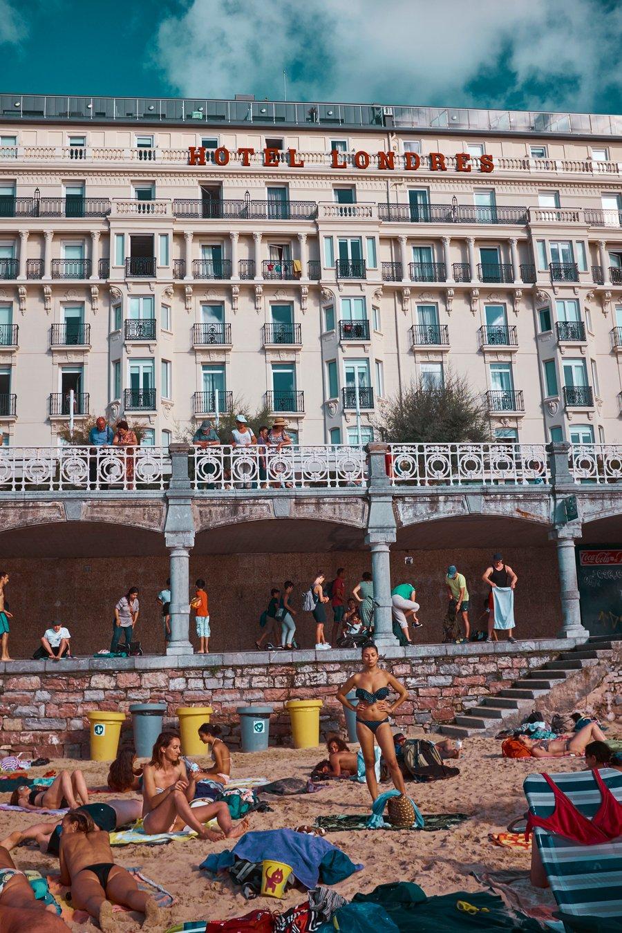 Image of 'La Playa' <br> San Sebastian, Spain
