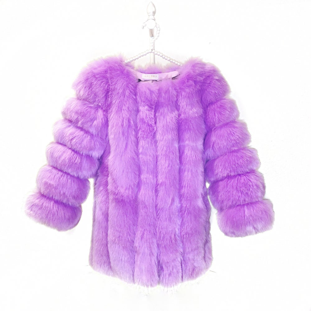 Image of London Long Fur Coat