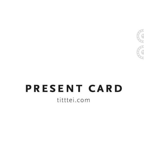 Image of PRESENT CARD