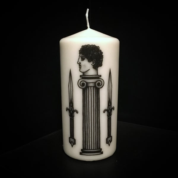 Image of KNIVES CANDLE