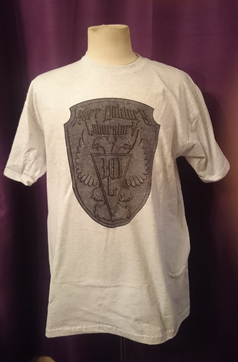 """Image of Herr Döktor's Laboratory Limited Edition T-Shirt No.2 """"Herr Döktor's Laboratory SHIELD"""""""