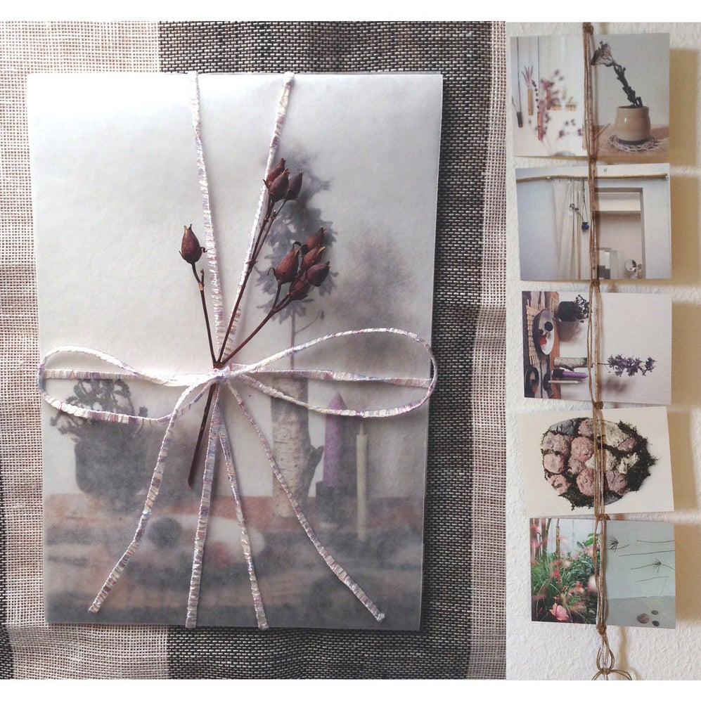 Image of Wrapped Postcard Series