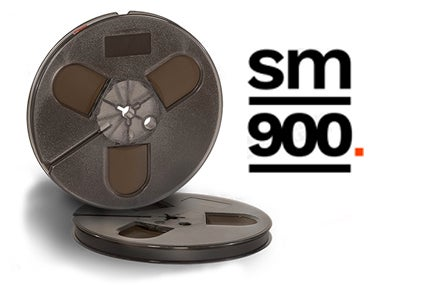 "Image of SM900 1/4"" X1200' 7"" Plastic Reel Hinged Box"