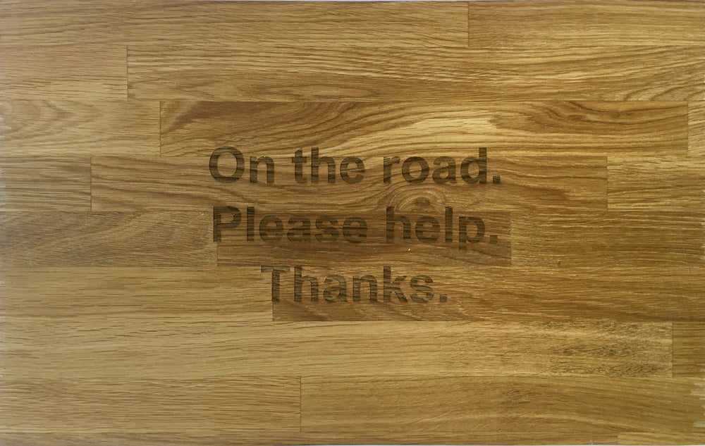 Image of On the road. Please help. Thanks.