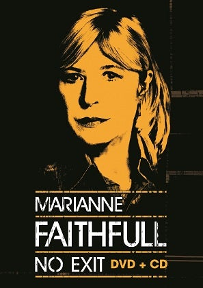 Image of MARIANNE FAITHFULL - No Exit - Boîtier DVD + CD