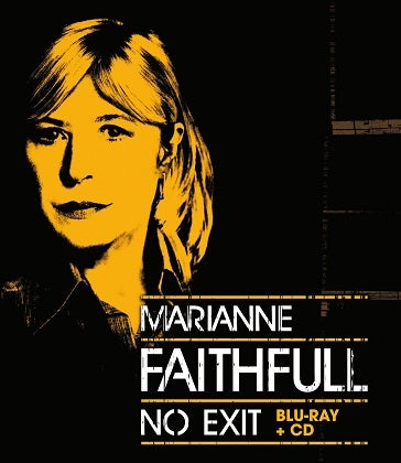 Image of MARIANNE FAITHFULL - No Exit - Boîtier Blu-ray + CD