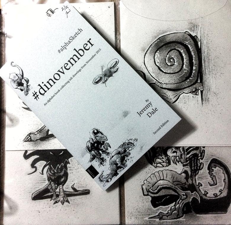 Image of Dinovember #alphaSketch books/originals