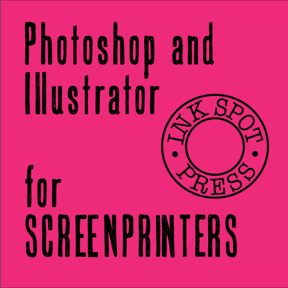 Image of PHOTOSHOP AND/OR ILLUSTRATOR FOR SCREEN PRINTERS. One to One sessions. £30.00 per hour.