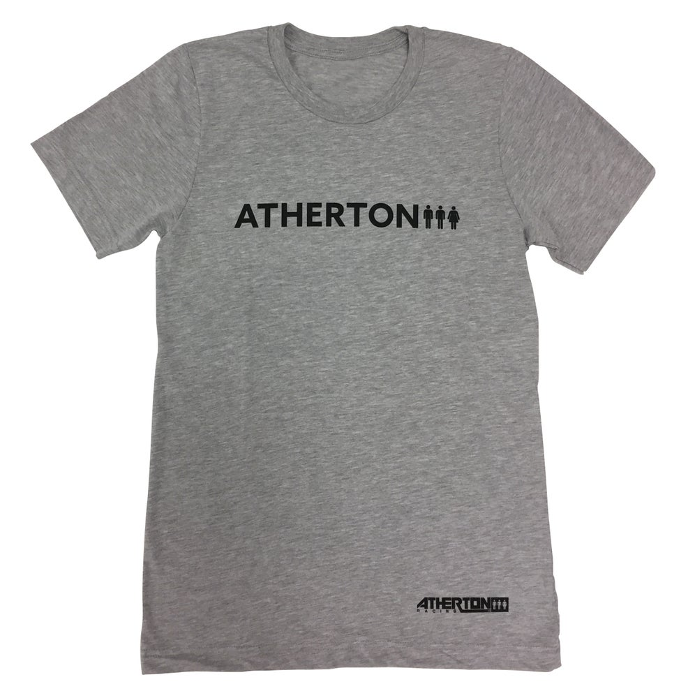 Image of Mens Word Tee - Light Grey