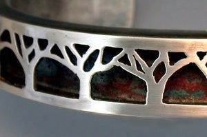 Image of Pierced Tree Bracelet
