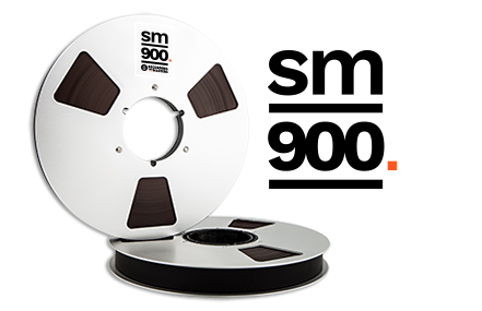 "Image of SM900 1"" X2500' 10.5"" Metal Reel Hinged Box"