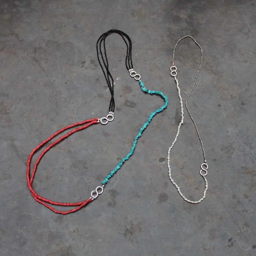 Image of BIG HOOK CHANCE NECKLACES
