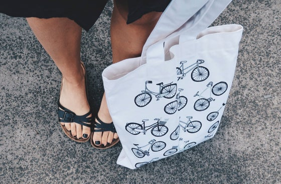 Image of Bicycles Tote Bag