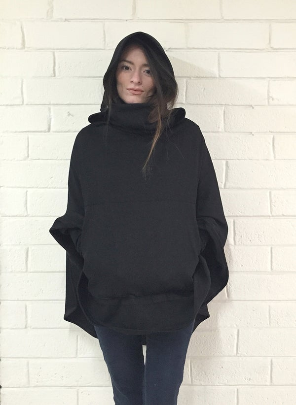 Image of Black Sweatshirt Cappi