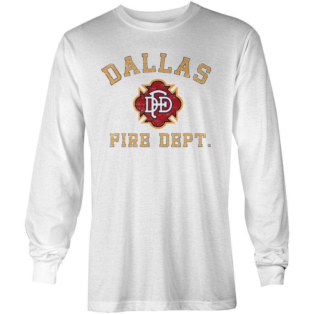 Image of DFD Old School - White L/S 2B124