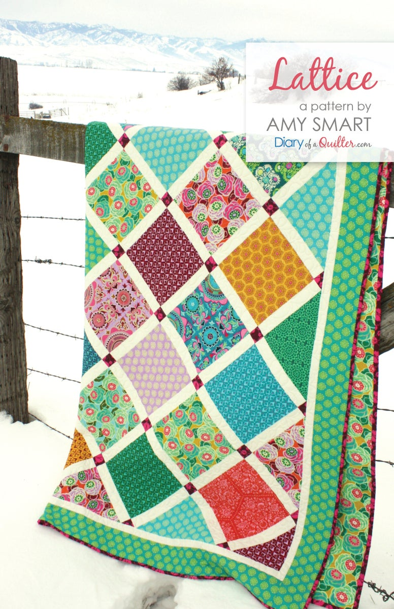 Lattice quilt pattern pdf shop by amy smart baditri Choice Image