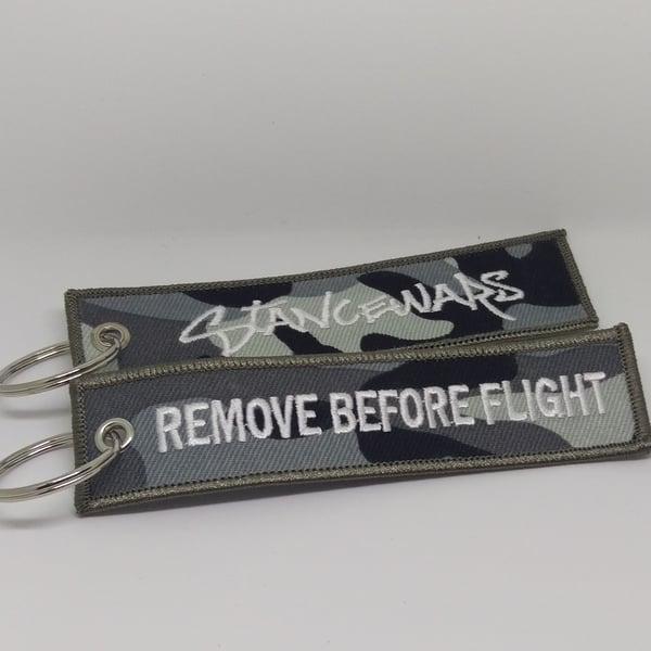 Image of Camo - Remove Before Flight Tag