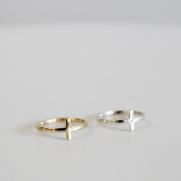 Image of Cross Ring - Minimalist Range