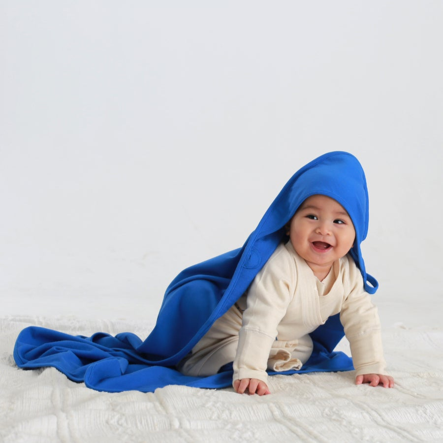 Image of Swaddle Me Hooded Terry Blanket