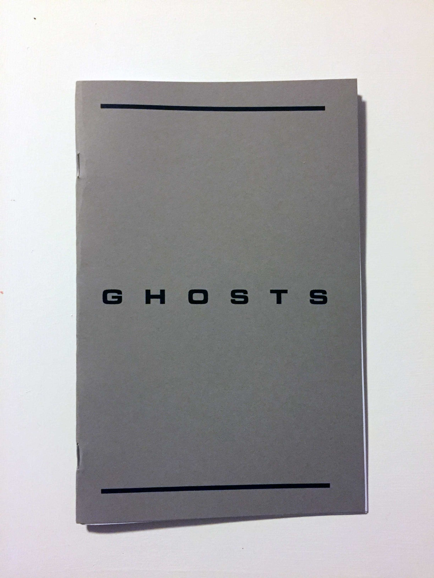 Image of TERENCE HANNUM / Ghosts / Zine