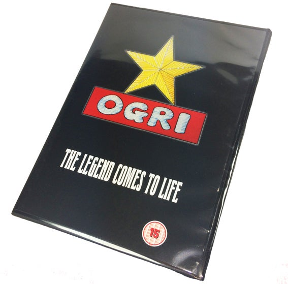 Image of Ogri DVD BACK IN STOCK!