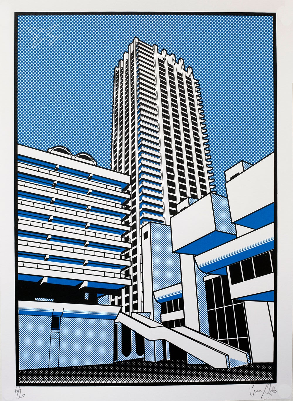 Image of Barbican blue