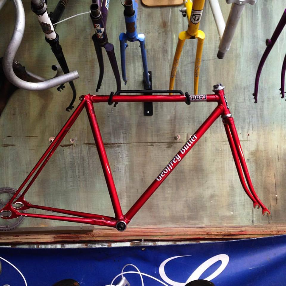 Image of Vintage track frame builder unknown  Rare 48 cm !