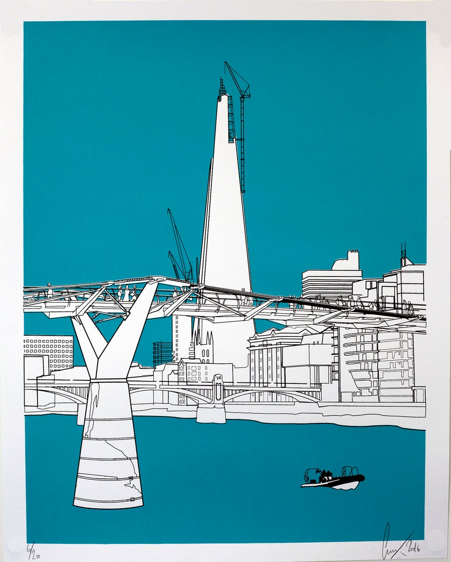 Image of The Shard turquoise