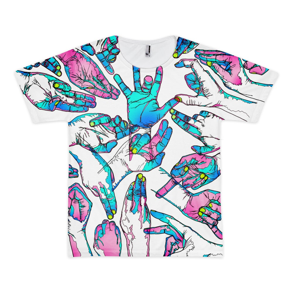 Image of  Hands Tee'
