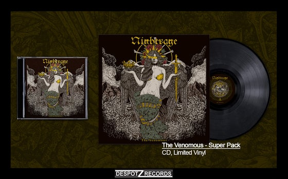 Image of Nightrage - The Venomous Super Pack (CD/LP)