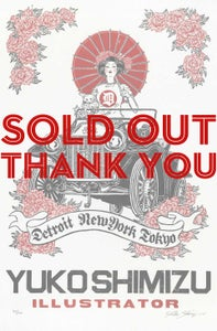 Image of SOLD OUT limited edition print: DETROIT-NY-TOKYO (signed, sealed + numbered)