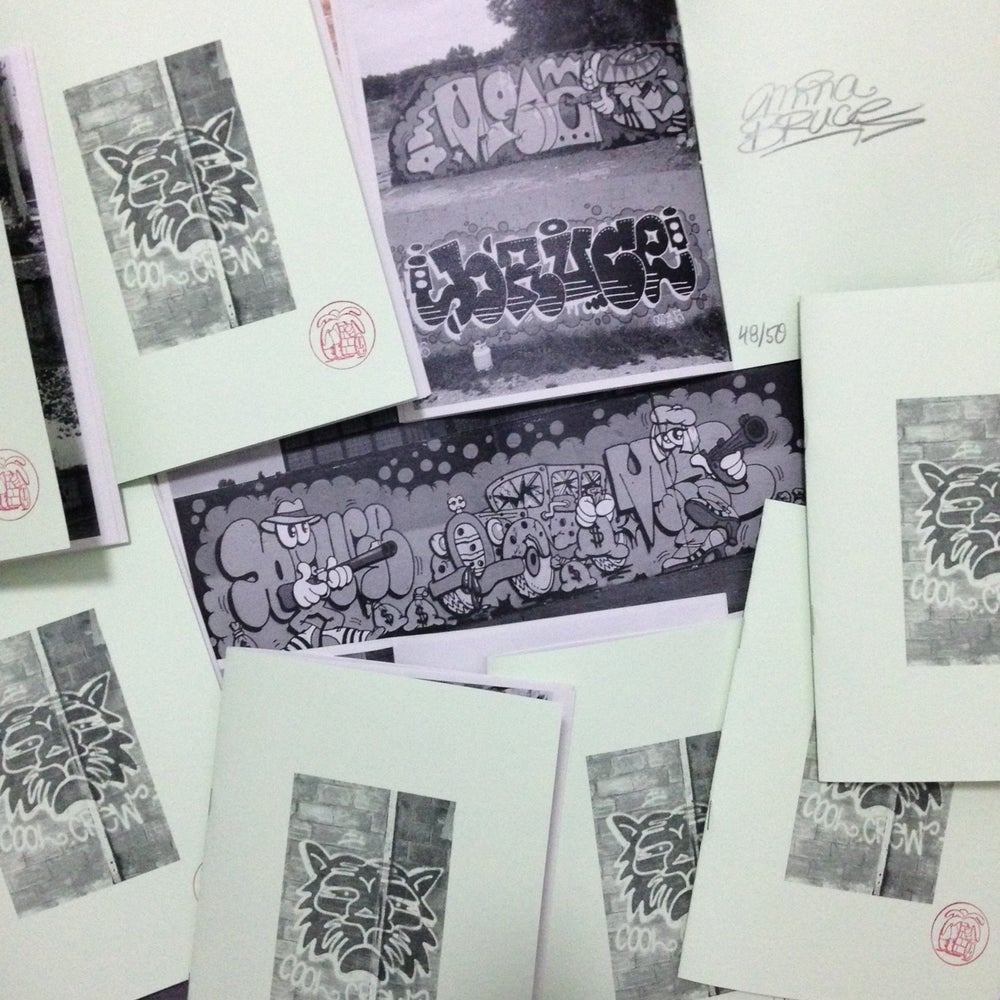 Image of fanzine Mina Bruce CoolCrew