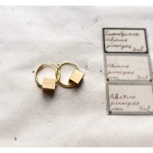 Image of The Square Golder Earring
