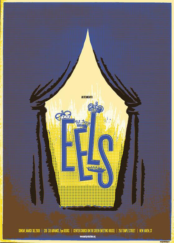 EELS gig poster