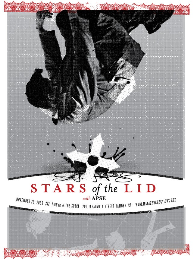 Stars of the Lid poster 2008
