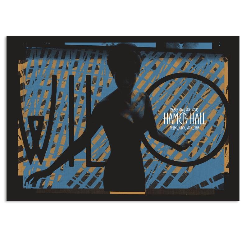 Image of Wilco Australia tour poster