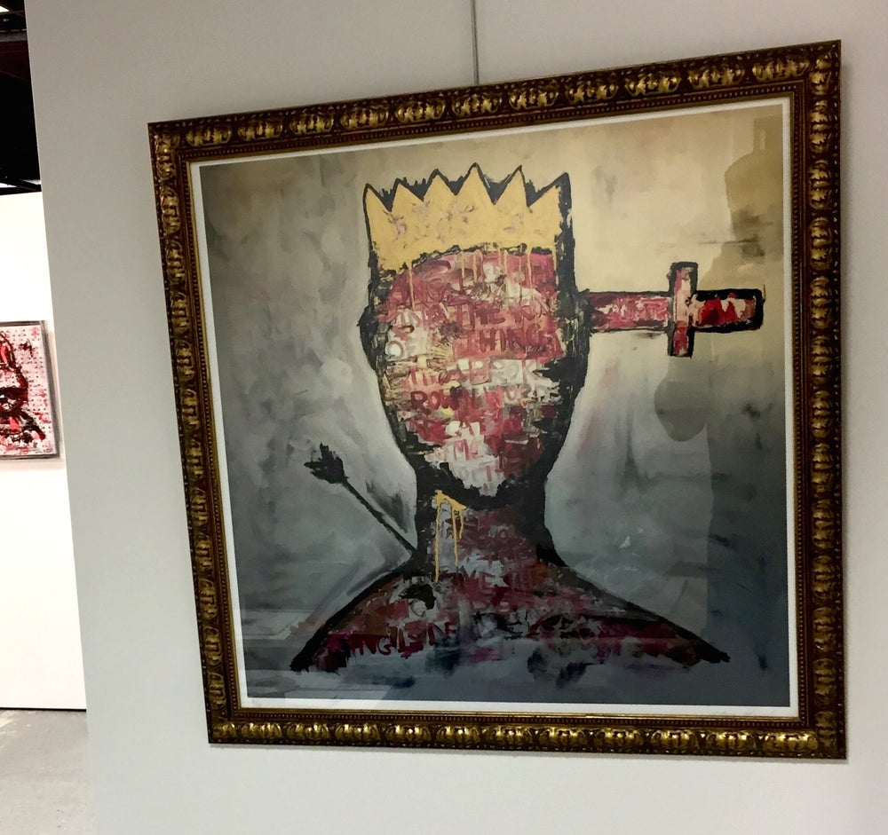 Image of The Last King of London (Limited edition print)