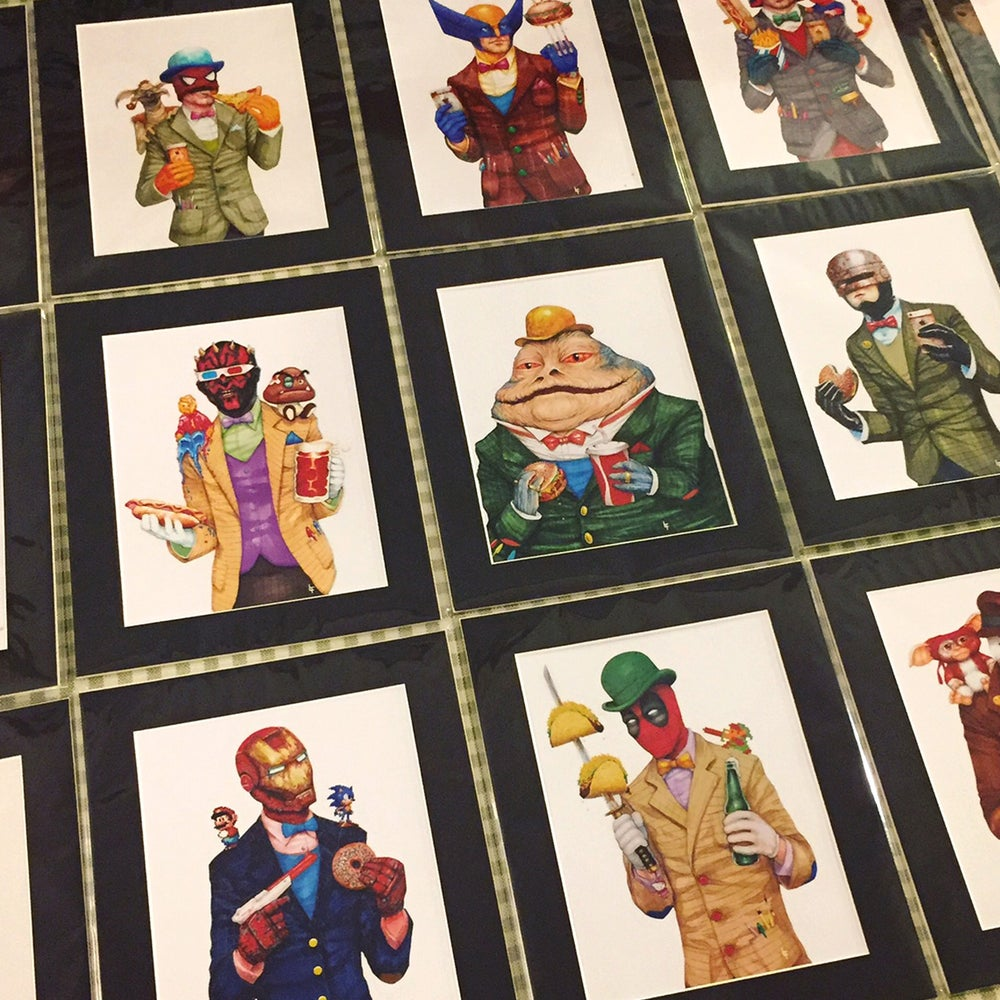 "Image of Jabba Gent 8X10"" Art Print"