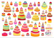Image of 50 cakes of gay in Miami