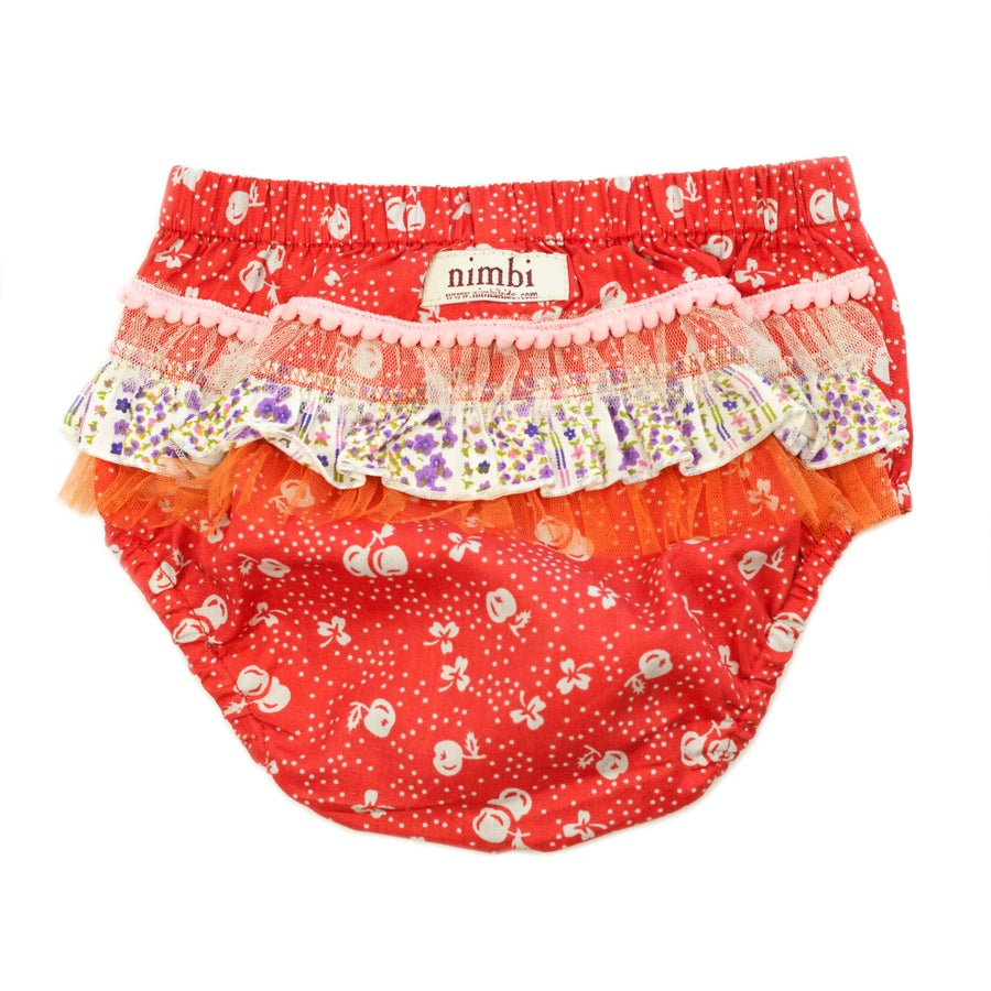 Image of Bambini Ruffled Pilchers - Rouge