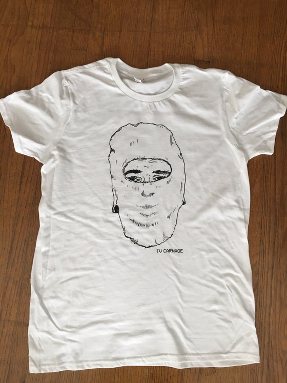 Image of TV CARNAGE BALACLAVA TEE