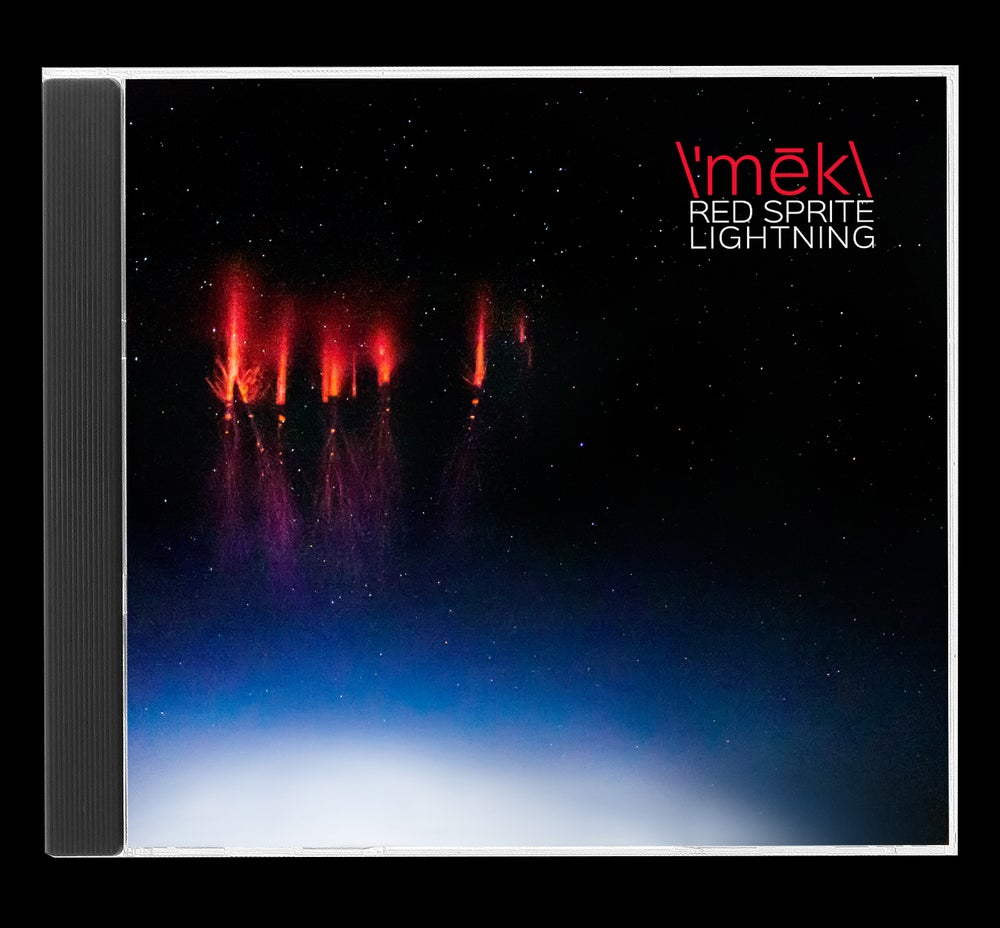 Image of \'mēk\ red sprite lightning cd