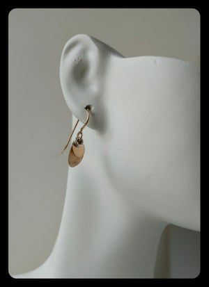 Image of double petal earring