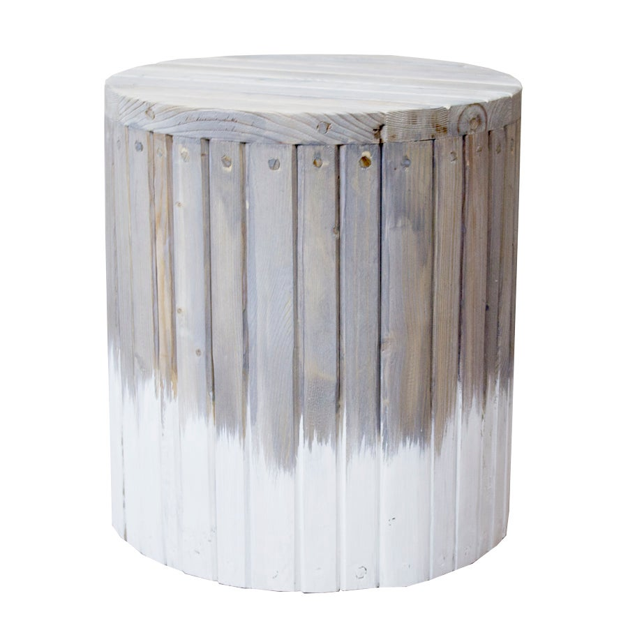 Image of Drum Dipped Side Table